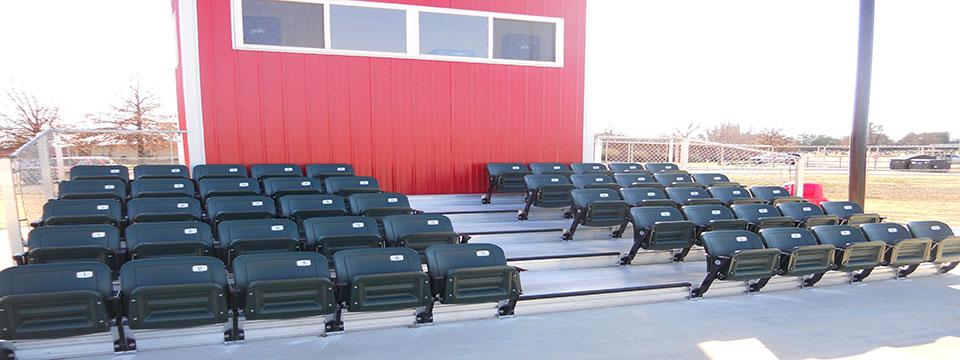 Stadium Bleachers – Chair for Bleachers
